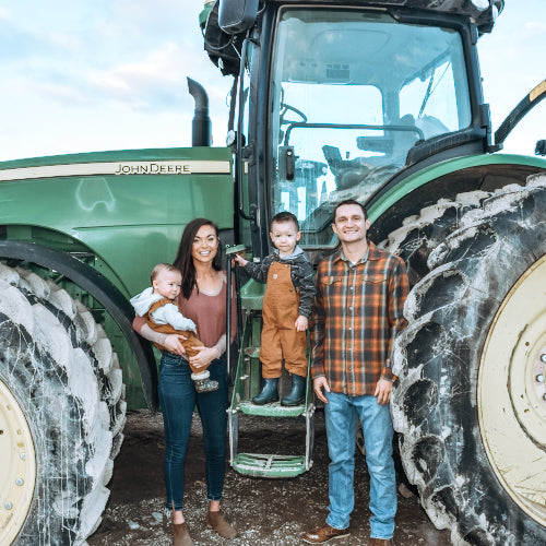 The Start of our Family Farm: Dating in a Tractor