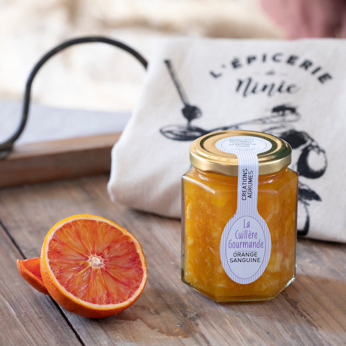 Confiture orange sanguine