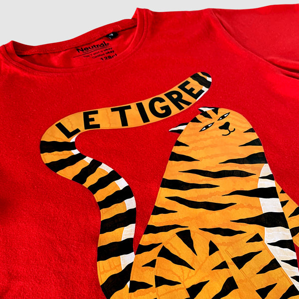 Le Tigre Kid's T-shirt - Red