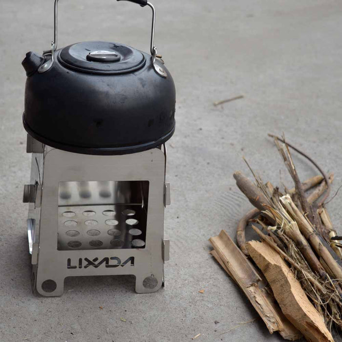 Stainless Steel Wood Stove