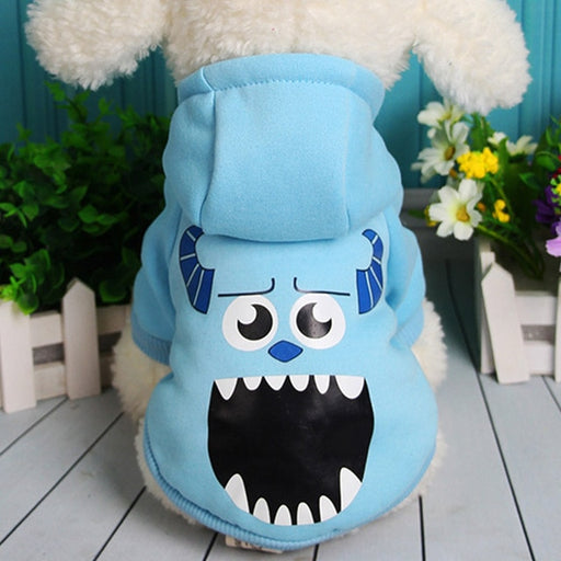 """Monsters Inc."" Dog Hoodie (Sullivan)-Pet Supplies-Qponer"