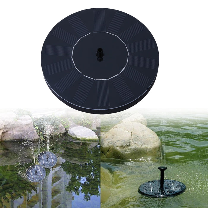 Solar Water Fountain-Garden Supplies-Qponer