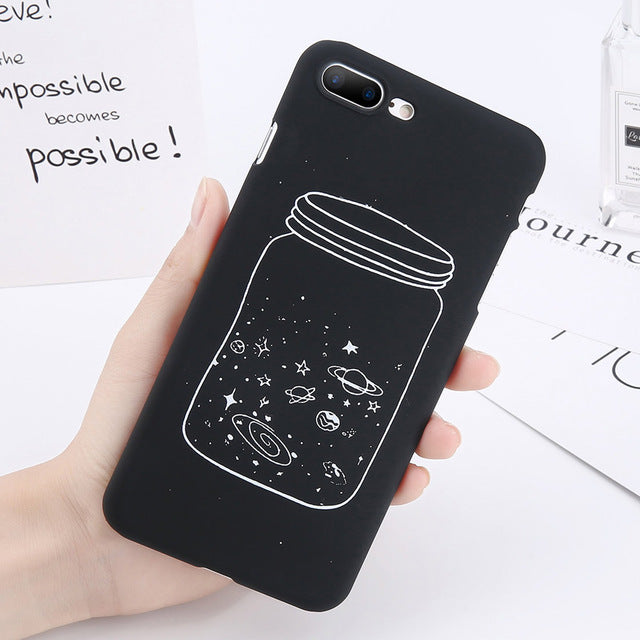 Space Jar iPhone Case-Phone Cases-Qponer