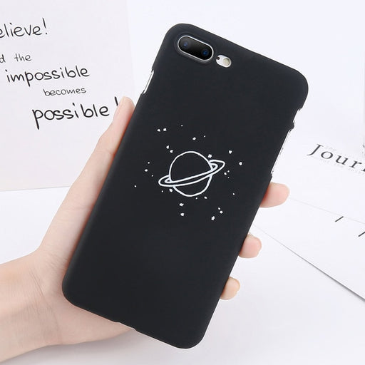 Saturn iPhone Case-Phone Cases-Qponer