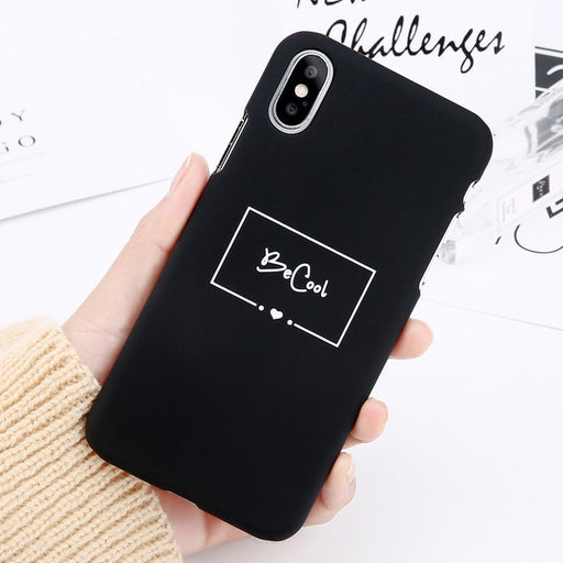 Be Cool iPhone Case-Phone Cases-Qponer