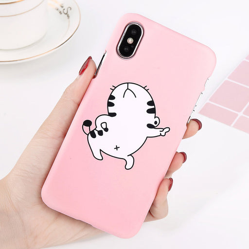 Dancing Cat iPhone Case-Phone Cases-Qponer