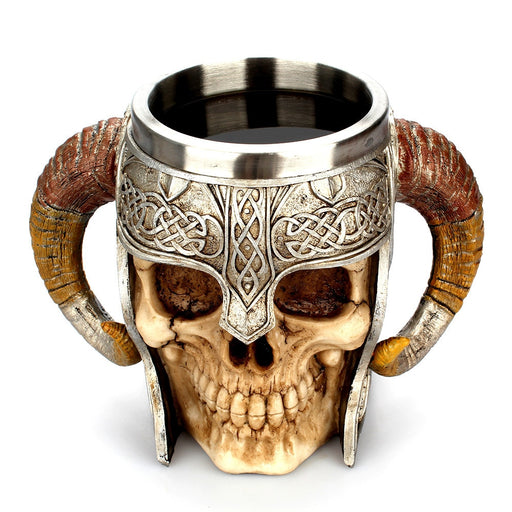 Viking Skull Coffee Mug