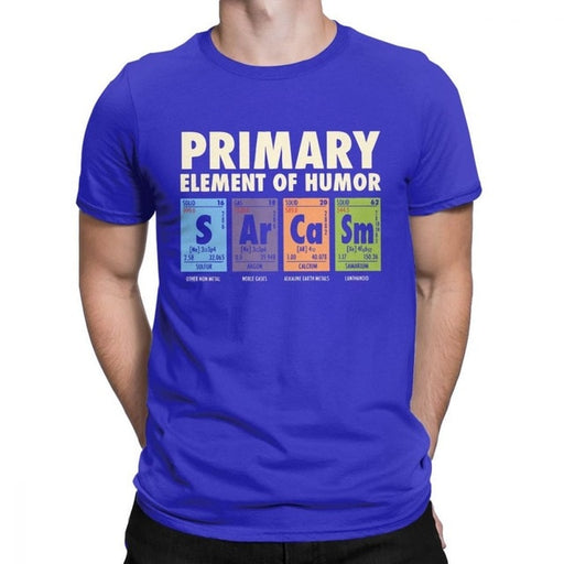 Sarcasm Periodic Table Men's T-Shirt