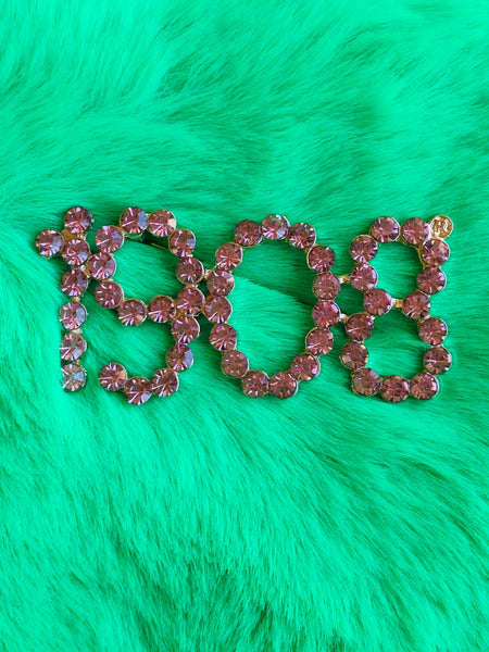 AKA 1908 Pin - Pink - Lavish Accessories & Shoe House