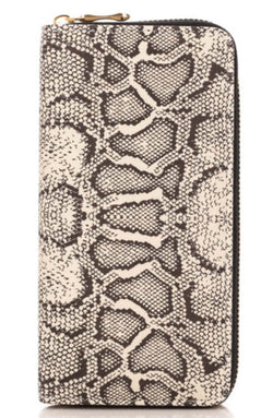 Pretty In Python Wallet - Lavish Accessories & Shoe House