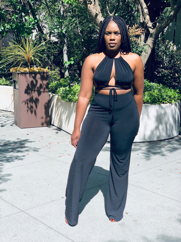 Caught Your Eye Jumpsuit - Lavish Accessories & Shoe House