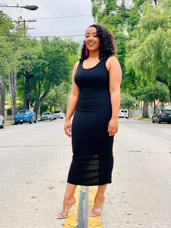 Simply Yours Dress - Black - Lavish Accessories & Shoe House