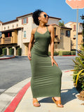 Come With Me Maxi Dress - Olive - Lavish Accessories & Shoe House