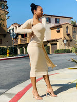 Nikki Set - Sand - Lavish Accessories & Shoe House