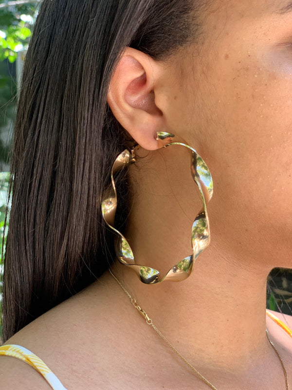All Twisted Up Earrings - Lavish Accessories & Shoe House