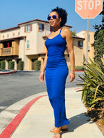 Come With Me Maxi Dress - Royal Blue - Lavish Accessories & Shoe House
