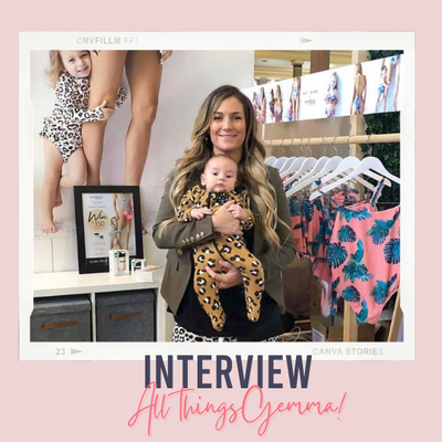 Interview | Gemma on all things Infamous Swim and mumma life.