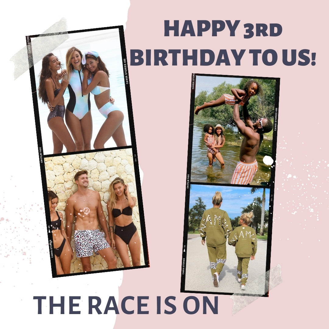 Happy birthday to us! To celebrate the race is on to win huge prizes