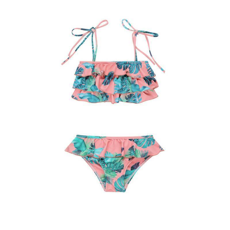 POPPY Bikini Set // Sunset Tropical