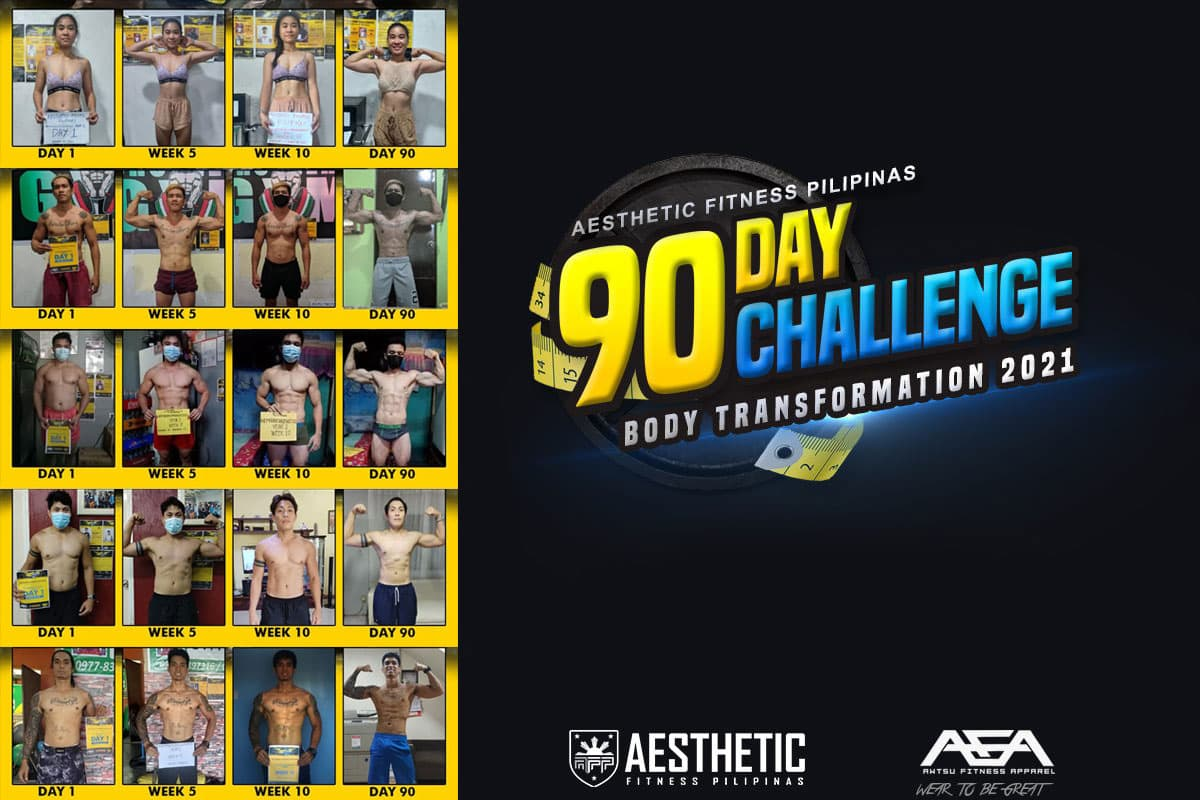 90 Days Challenge Body Transformation 2021 Results