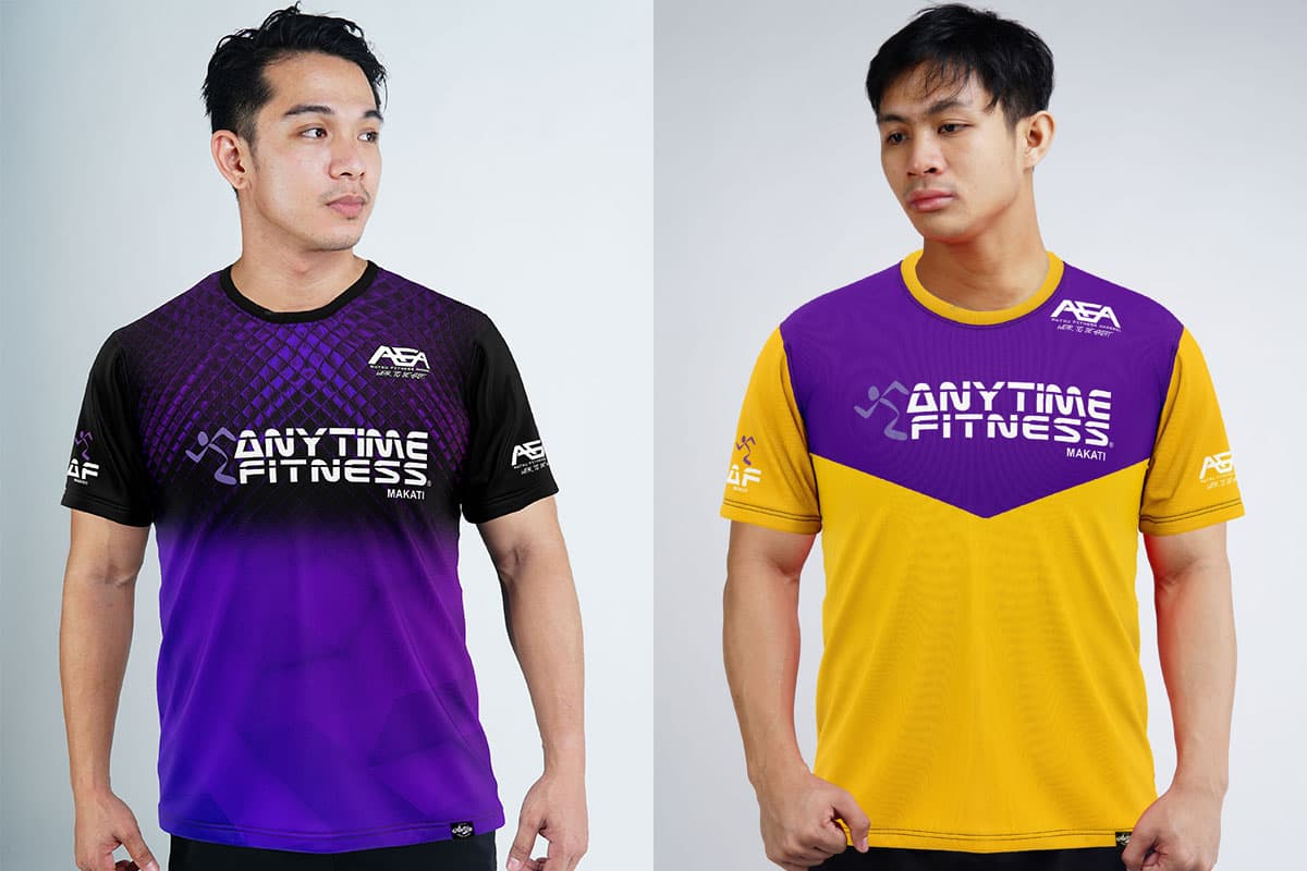 Anytime Fitness x Awtsu Fitness Apparel Collab Capsule