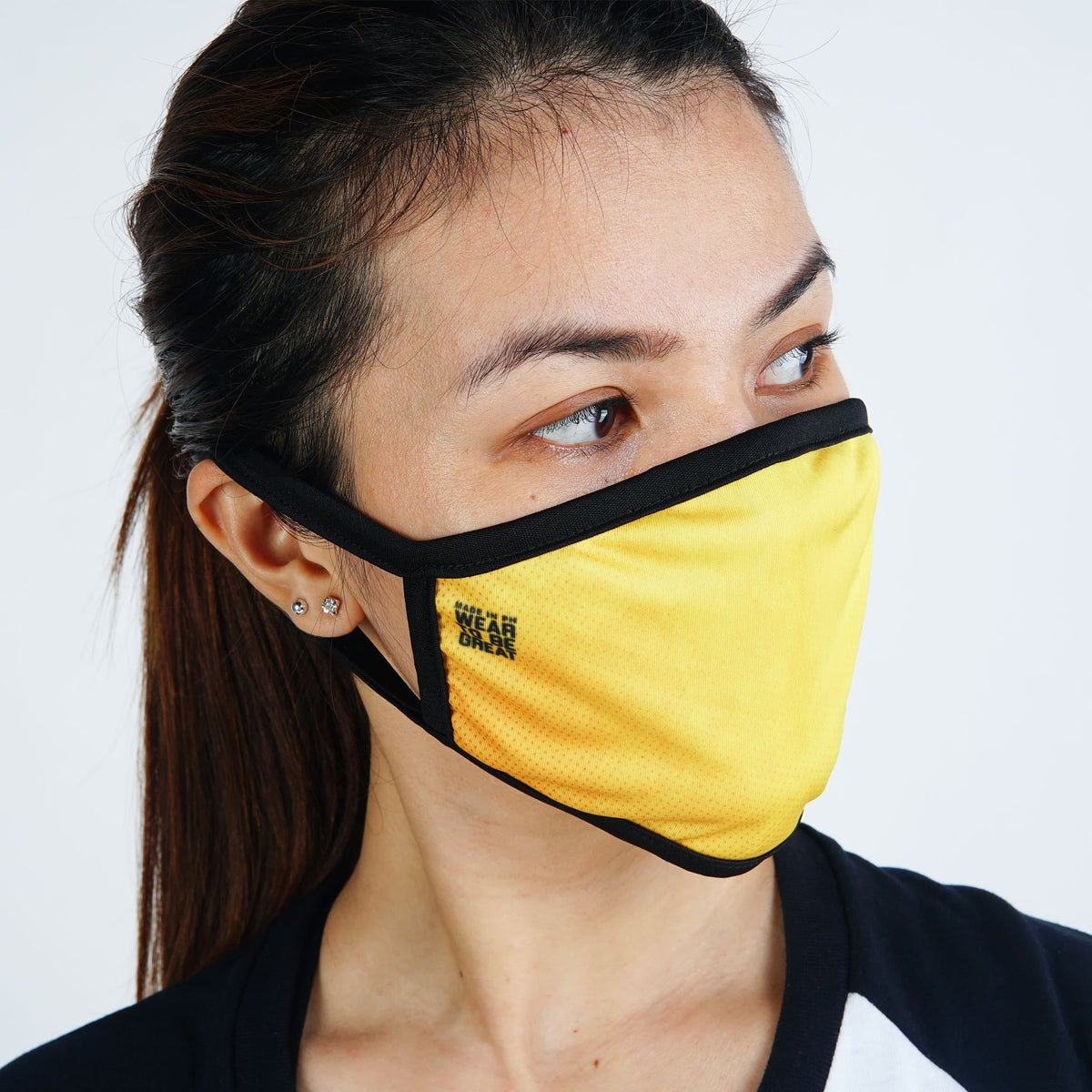 AFA Yellow Face Mask