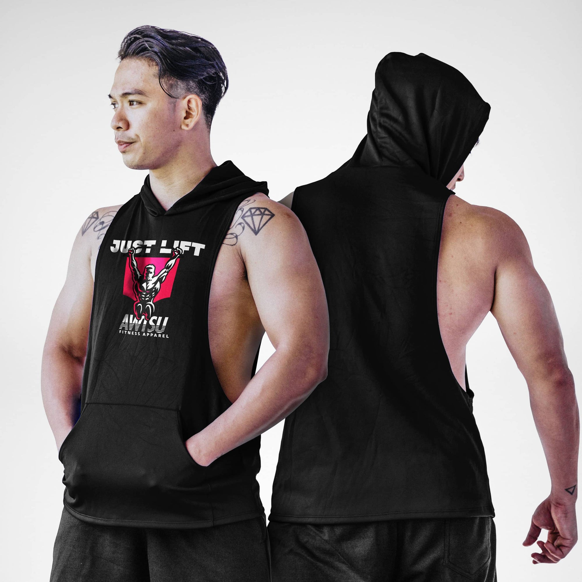 AFA Just Lift Sleeveless Hoodie