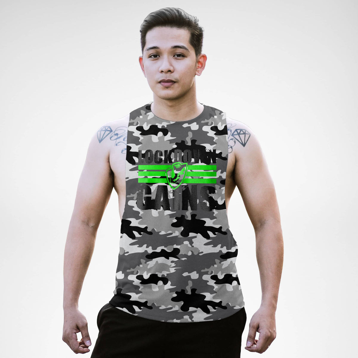 Lockdown Gains Openside Tank Top