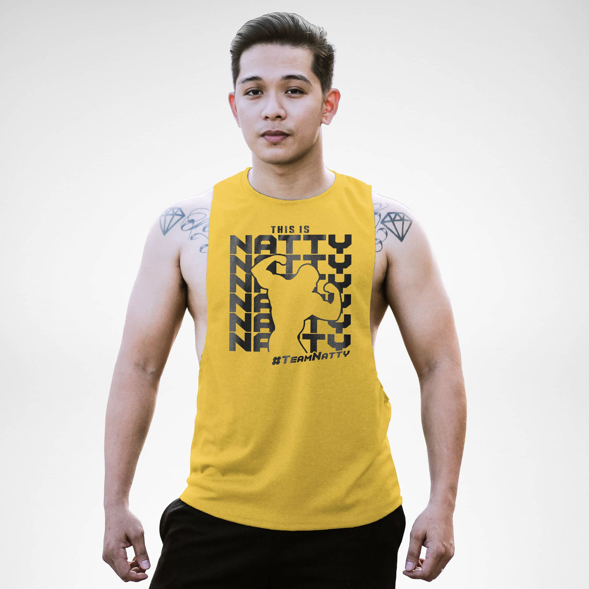 This Is Team Natty Openside Tank Top