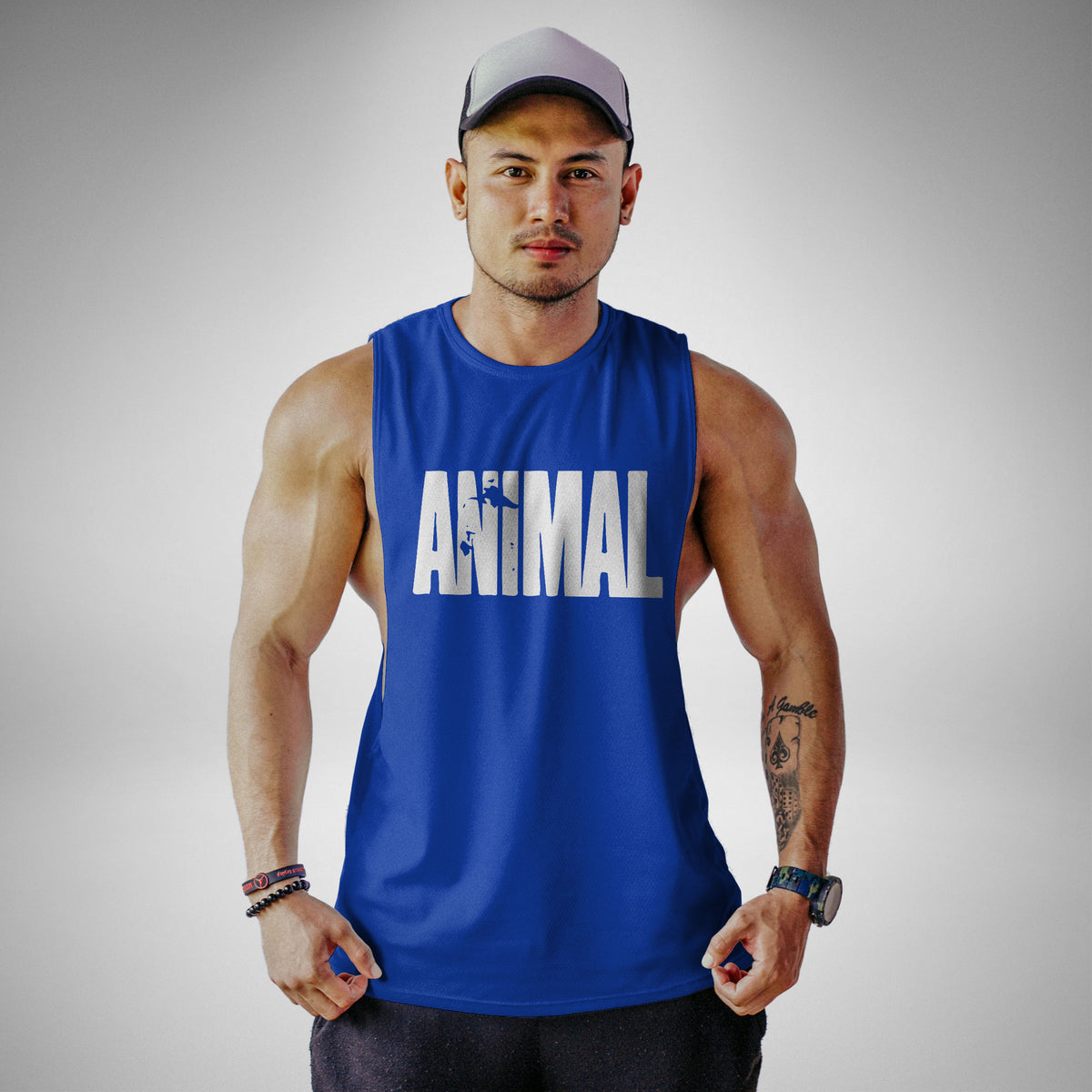 AM100 Animal Openside Tank Top