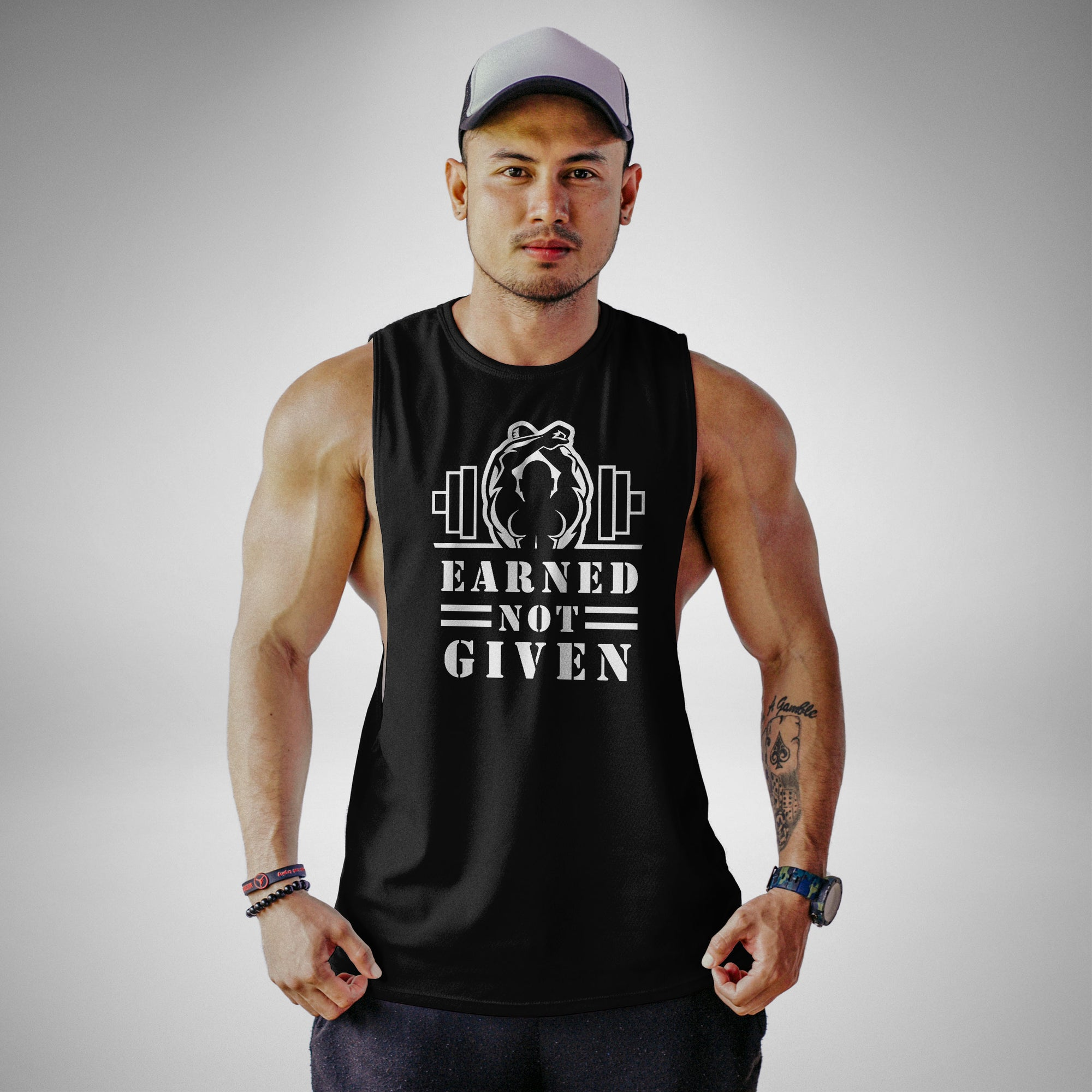 AM106 Earned Not Given Openside Tank Top