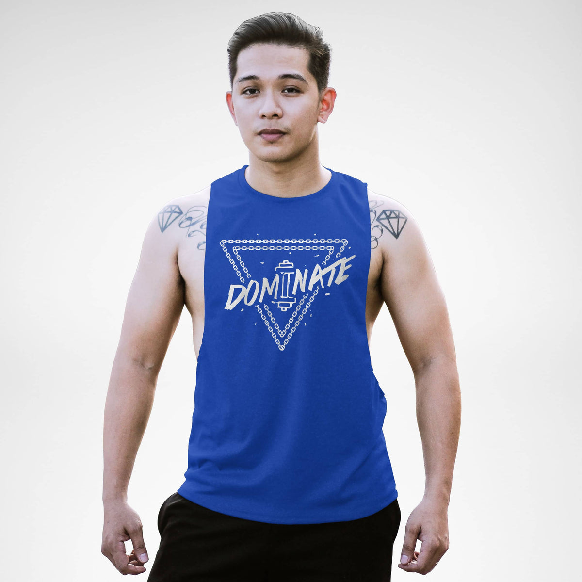 AM154 Dominate Openside Tank Top