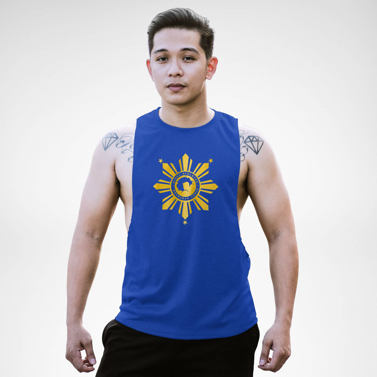AM155 Pinoy Athletes Openside Tank Top