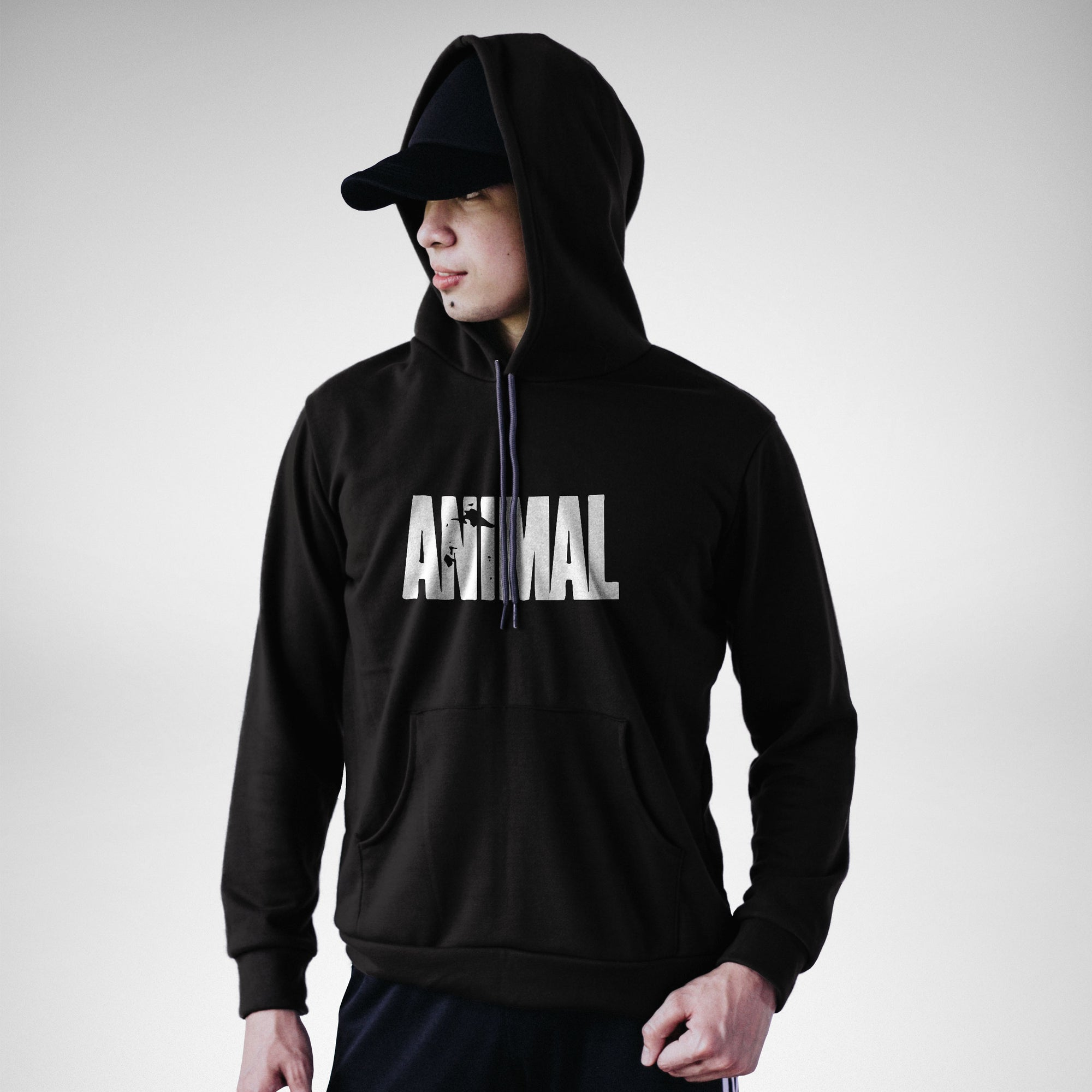 POH100 Animal Pullover Hoodie