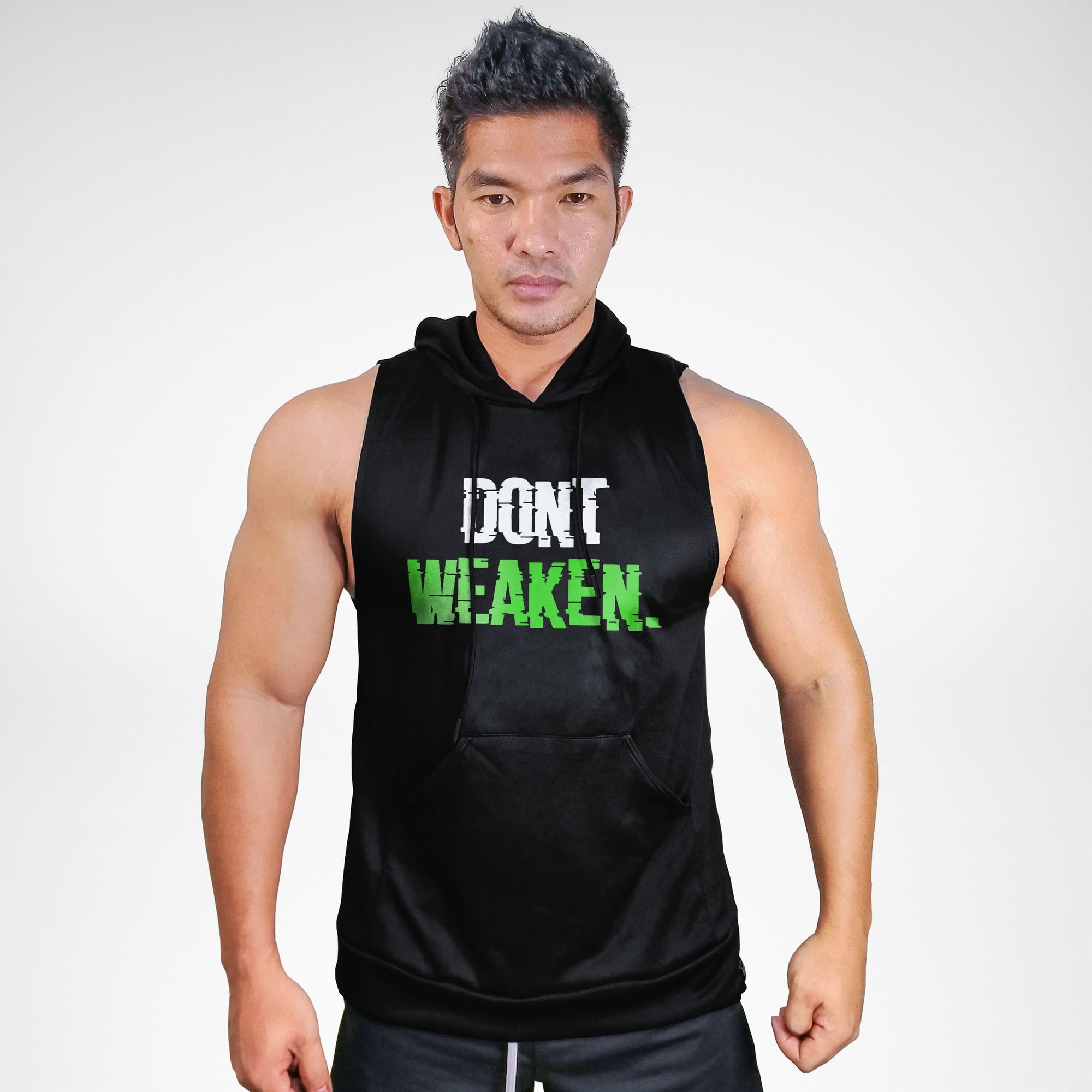 Don't Weaken Sweat Muscle Hoodie