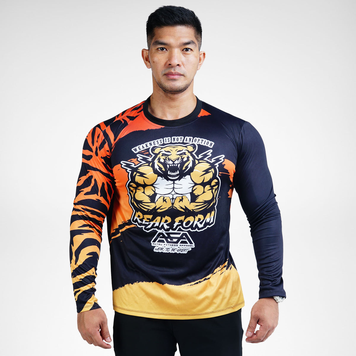 Rear Form Sublimation Long Sleeve T-Shirt