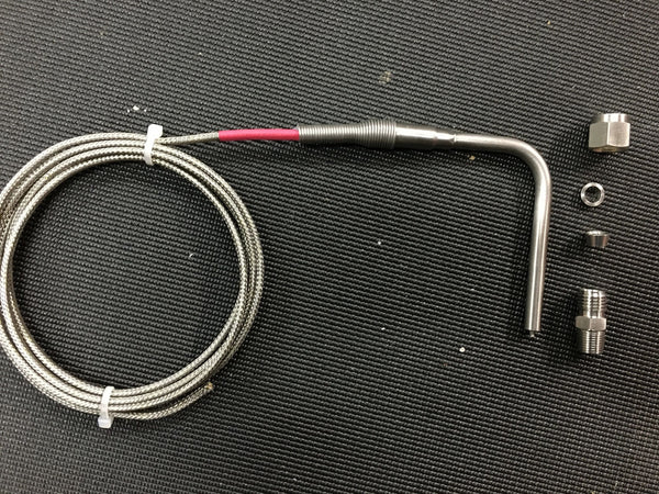 "SINGLE SPARE 1/4"" EGT PROBE, 6FT LEADS"