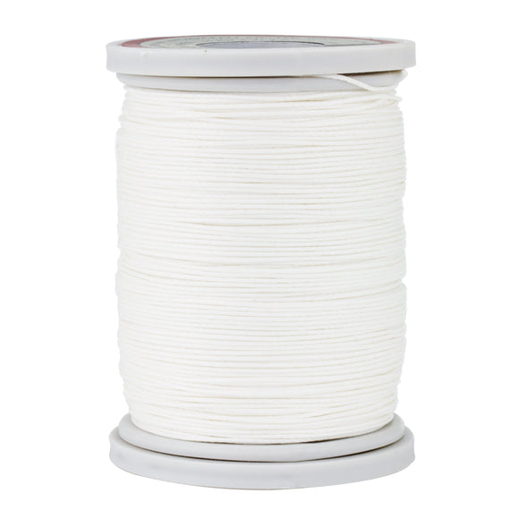Craftplus® 0.55mm Premium Linen Thread, White