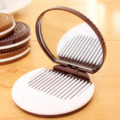 Chocolate Cookie Shaped Mirror