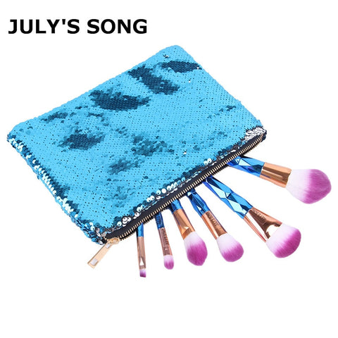 Cosmetic Bag Sequins Makup