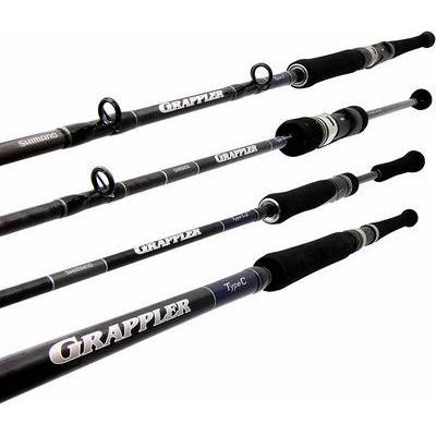 Jigging Rod - Shimano - Grappler Type J Conventional - JC56H - The Fishermans Hut