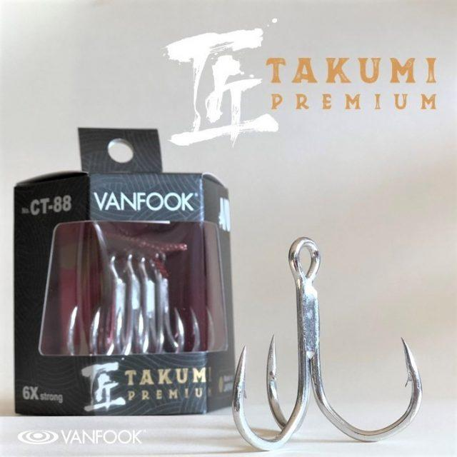 Treble Hook - Vanfook - CT-88 - The Fishermans Hut