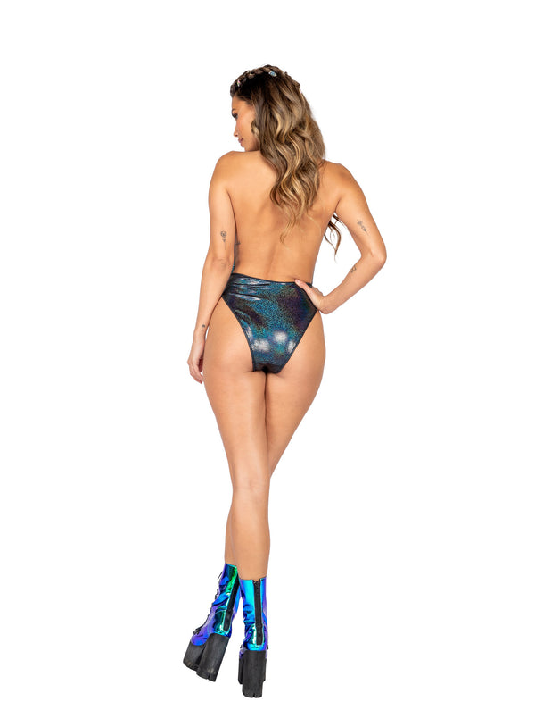 Astral Jewel Bodysuit - Jade Blue