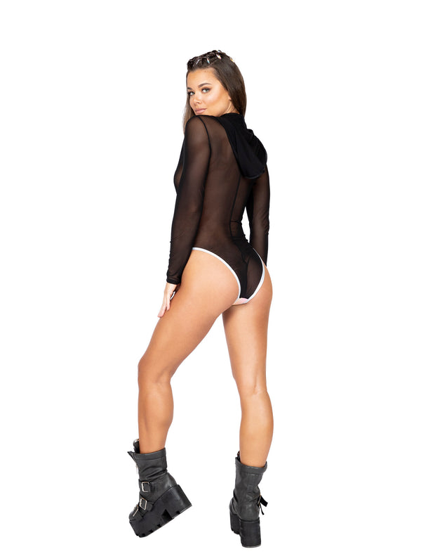 Sheer Slither Bodysuit