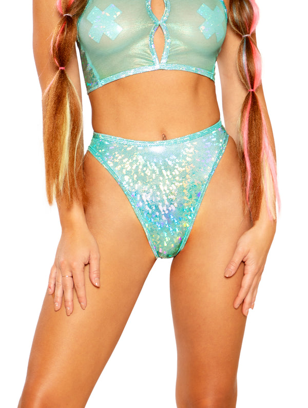 J. Valentine Holo Groove Bottoms - Mint
