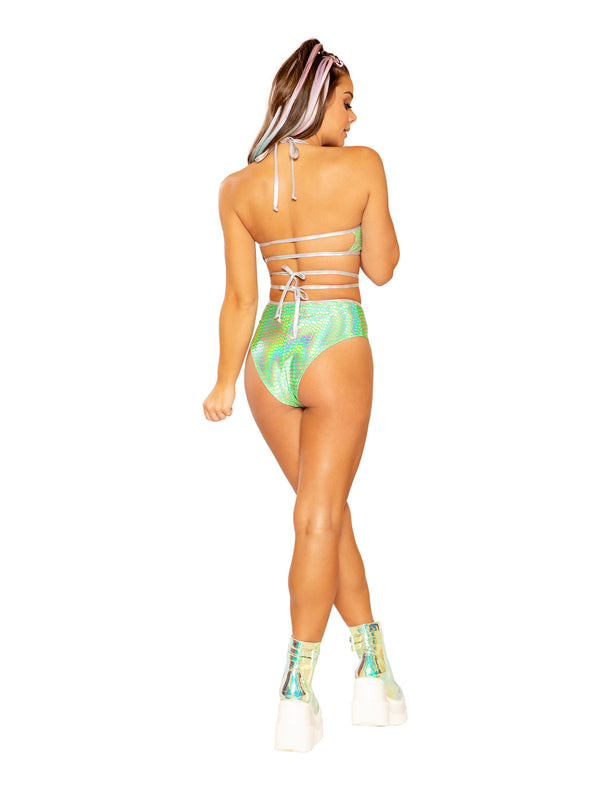J. Valentine PLUR Babe Outfit - Lime Pyramid