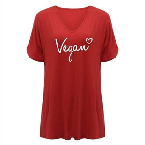 2020 Womens Vegan T-Shirt