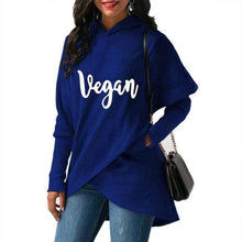 Load image into Gallery viewer, Vegan Womens Hoodie New Fashion