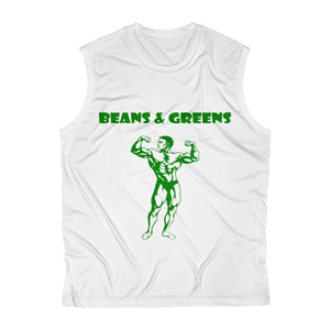 Exclusive Beans & Greens Sleeveless Shirt - StrongVegans