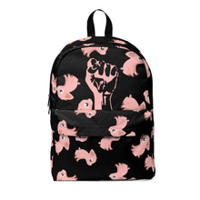 Load image into Gallery viewer, Exclusive StrongVegans Piggy Backpack - StrongVegans